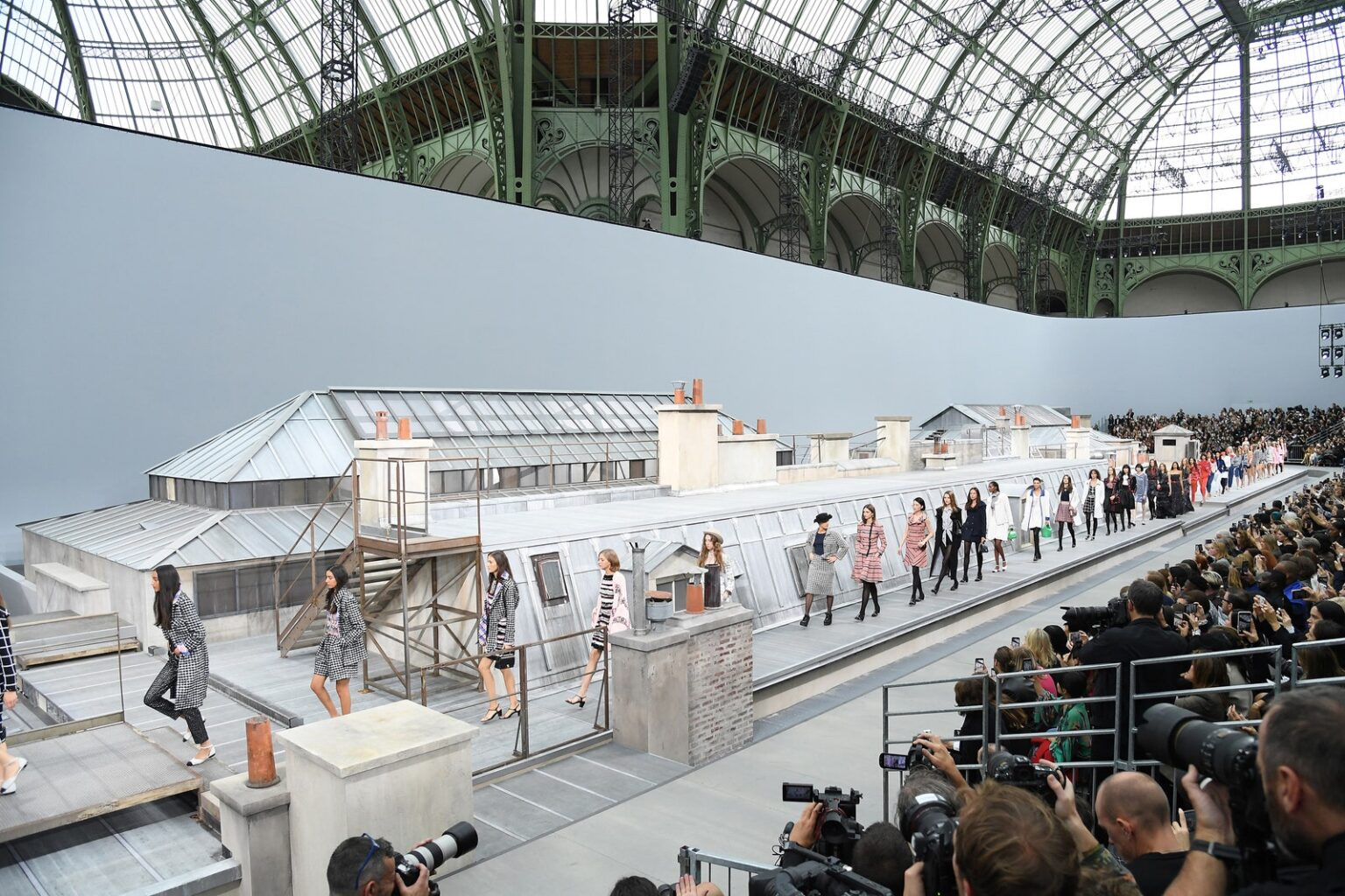 Architecture and Fashion Shows