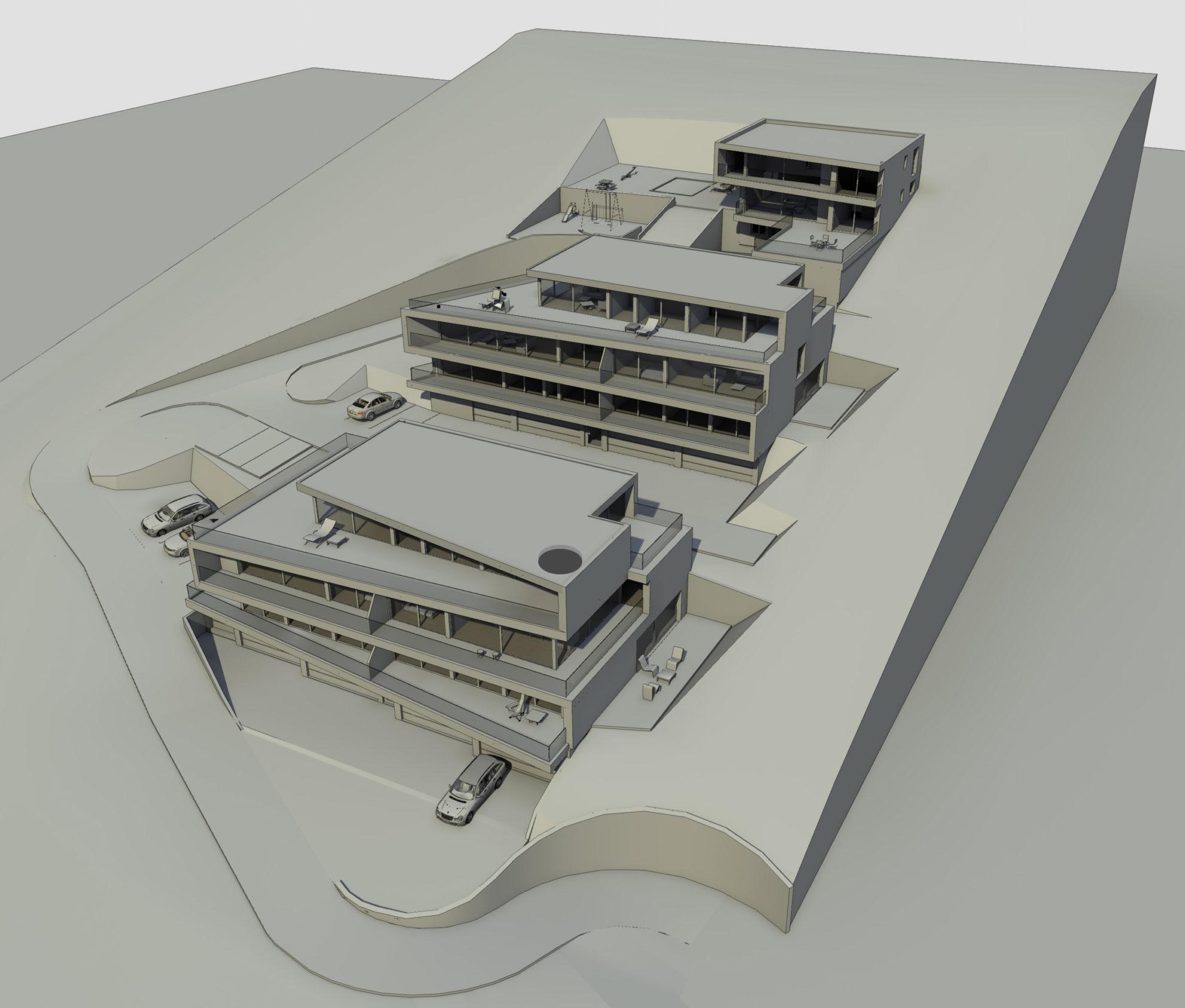 Ndërtesa banimi në Baden - Arbër Sadiki, Gëzim Sadiku