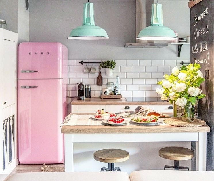 10 Tips on How to Design a Small Kitchen by Smeg