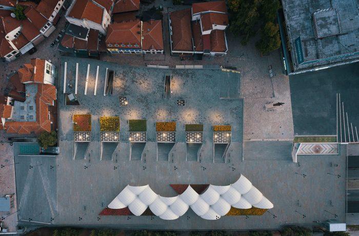 Sheshi Skënderbej Shkup - BINA, Besian Mehmeti Architects, qb Arkitektura