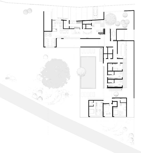 Hotel Graçanica - bnarchitects