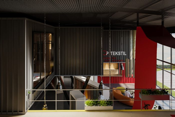 Textile Showroom & Offices - Tharm Architects