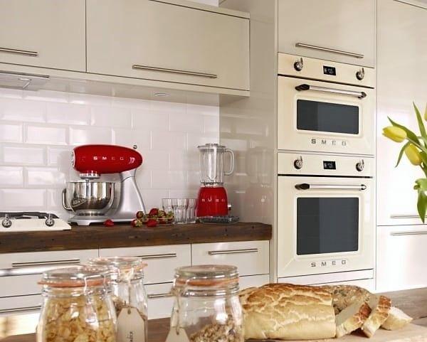Smeg Kitchen with Victoria line oven