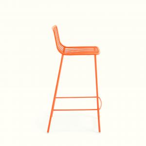Almex Nolita stool karrige e larte per jashte nga Pedrali
