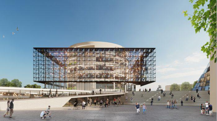 Gërmia Concert Hall International Competition - MA Studio & Partners