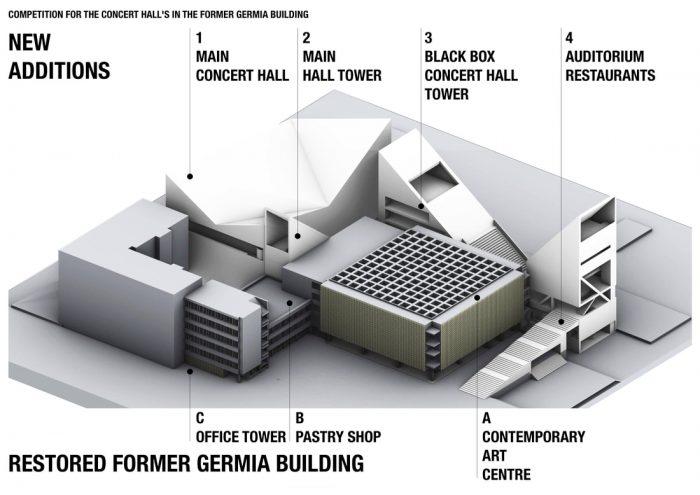 Prishtina city hall Ex Germia