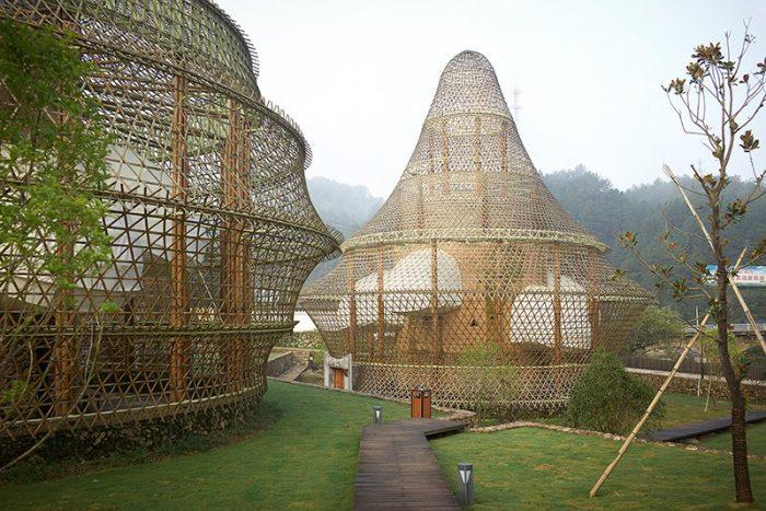 bamboo hostel Anna Heringer