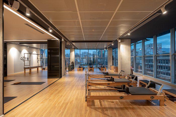 Core pilates projekti nga Nesila Hajdini pilates are